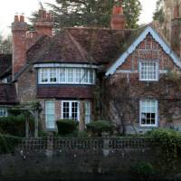 George Michael home in Lock Approach, England