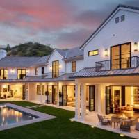 Chandler Parsons home in Los Angeles, CA