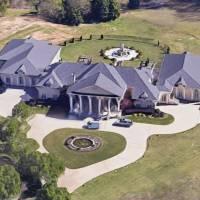 Creflo Dollar home in Fayetteville, GA