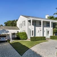 Simon Doonan home in Palm Beach, FL