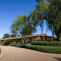 Steve Finley home in Santa Barbara, CA