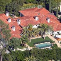 David Beckham home in Beverly Hills, CA