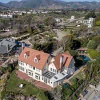Anthony Hopkins home in Malibu, CA