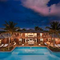 Bruce Willis home in Parrot Cay, Turks and Caicos Islands