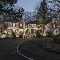 Paul Simon home in New Canaan, CT