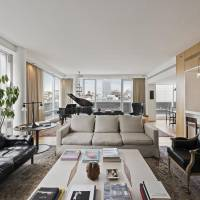 Jessica Biel home in New York, NY