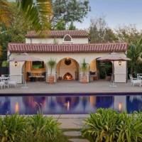 George Lucas home in Los Angeles, CA