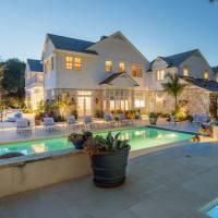 Steve Harvey home in Beverly Hills, CA