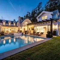 Chris Martin home in Malibu, CA