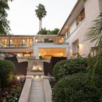 Jerry Weintraub home in Beverly Hills, CA