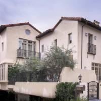 Jane Fonda home in Los Angeles, CA
