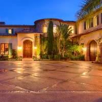 David Foster home in Malibu, CA